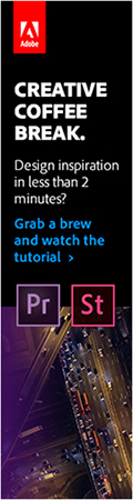 ad: Adobe Creative Coffee Break: Premiere Pro