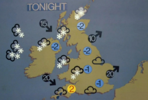 Bbc Weather Map Symbols