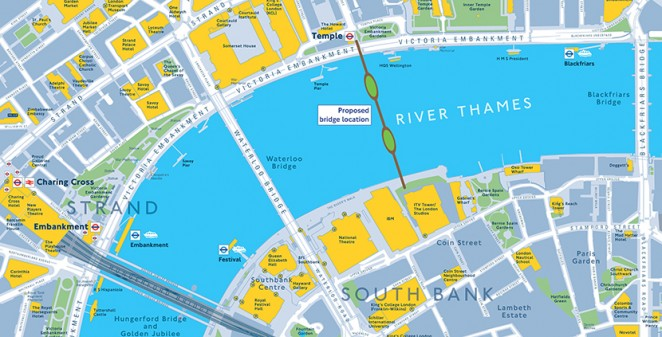 Londons Garden Bridge receives 2 million but still faces set backs