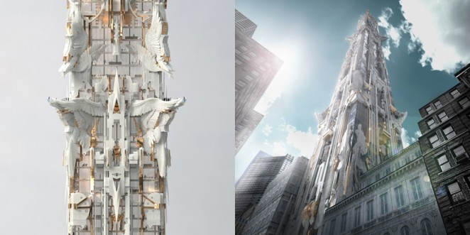 Other Proposed Designs For New Towers The City Include ODA Residential Tower With Open Air Terraces And Trio Of Proposals By Dror Benshetrit