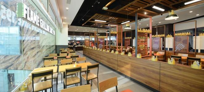 Burger King Launch New Interior Re Design In Paris
