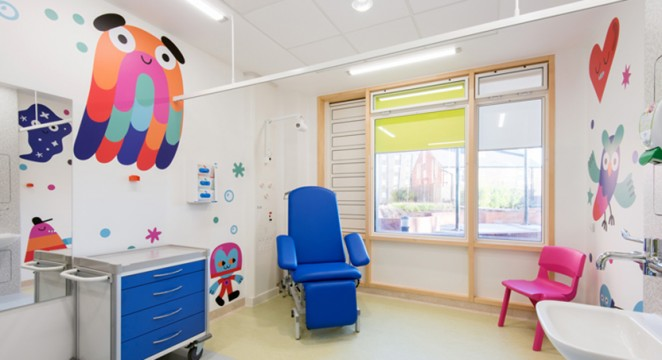 Artfelt fills Sheffield Children's Hospital with colour