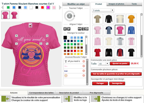 T-shirt Design Software To Develop Trendy Customized Tees Online