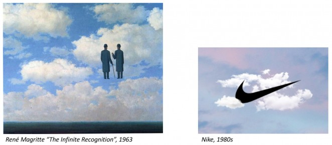 Over the decades since Magritte's death in 1967, plenty of other art  directors and designers have paid homage to the master. Here is some of his  work and ...