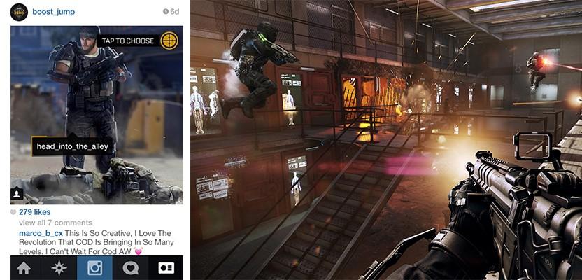 Call of Duty hacks Instagram!