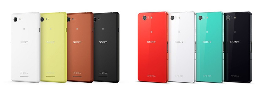 Sony unveil their latest flagship smartphones; the Xperia ...