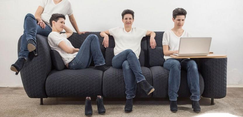 bates y r design the ultimate modular couch. Black Bedroom Furniture Sets. Home Design Ideas