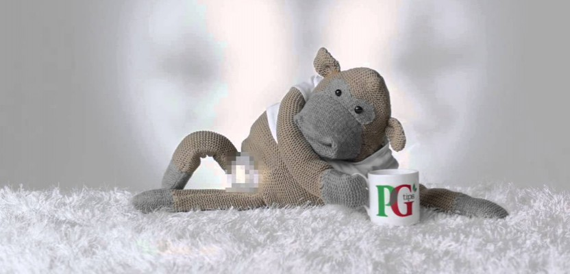PG Tips gives the Monkey a Vajazzle