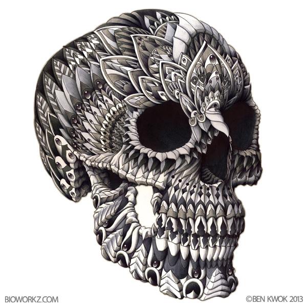 Bioworkz Skull Head